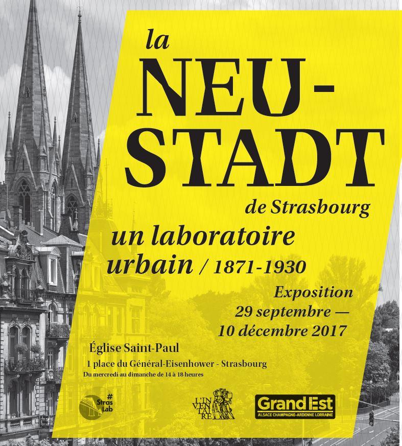 Affiche exposition la Neu-stadt